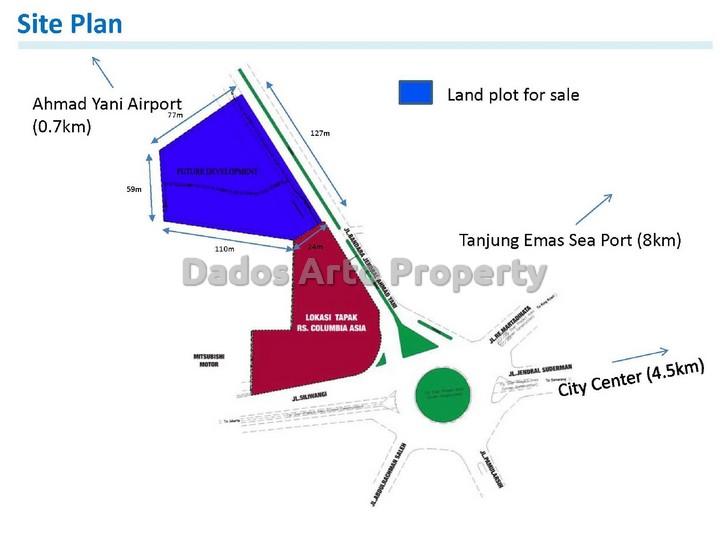 tanah-jual-dijual-bandara-ahmad-yani-semarang-t1-siteplan